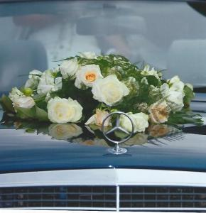 Hochzeitsautoschumuck